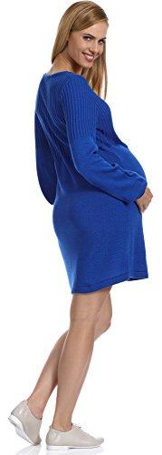 Be Mammy Robe de Grossesse Femme Polo Bleuet