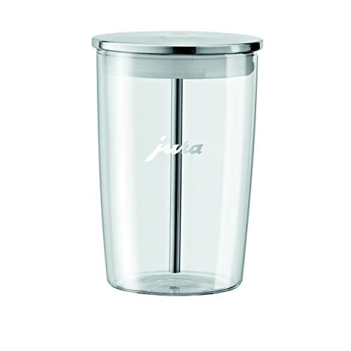 31EV9atH7oL. SS500  - Jura Glass Milk Container, 9.2 x 9.2 x 13.5 cm