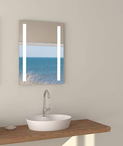 Talos Horizon Espejo de baño led, Blanco Neutro, 50 x 70 cm