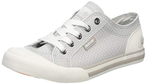 Rocket Dog Damen Jazzin Sneaker, Grau (Grey H00), 37 EU -