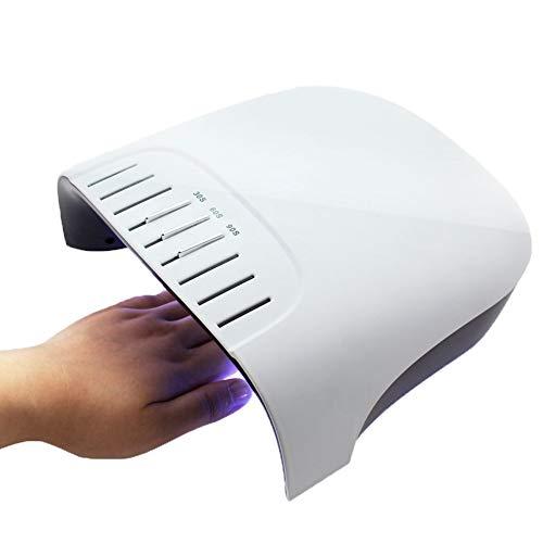 Nageltrockner LED UV Lampe für Nägel, Tragbare LED UV Lampe für Nägel,Infrarot Sensor,LCD Display, Geeignet für alle Gel -