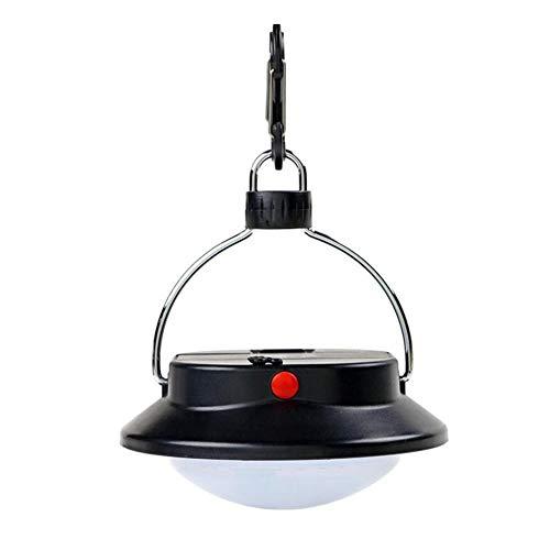 YAXuan Lampe Outdoor Camping Licht, Wasserdichte LED tragbare Camp Lampe mit 60 LEDs mit Lampenschirm Kreis Zelt Laterne weißes Licht Campingplatz Hängelampe Lampe -