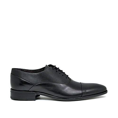 SERGIO SERRANO - Zapato - Cordones - Piel - Negro