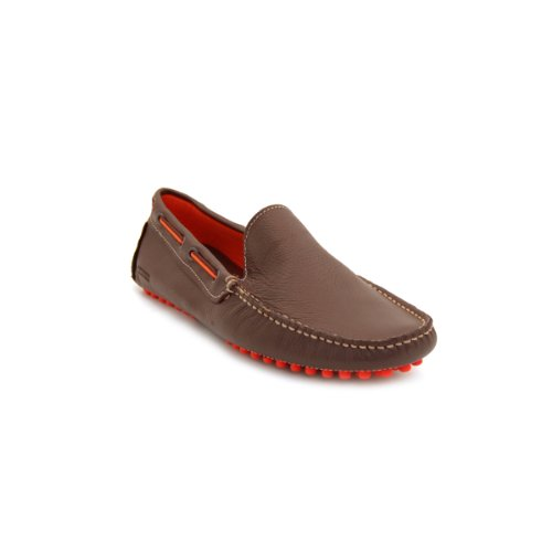 Kenneth Cole REACTION Men's Clutch Pedal Driver Loafer, Brown, 11.5 M US (Kenneth Cole Clutch)
