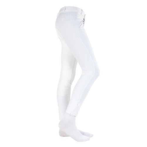 Horze Kds Narrow Fit Fs Breeches 150/Xl Color: Black, Size: Large by Horze Fit Breeches