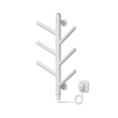 Elektrischer Handtuchhalter HLF- Haushalt, Baum Wäscheständer, intelligente Thermostat Bad Wandheizung, freie Lochung Größe: 52X40X17cm