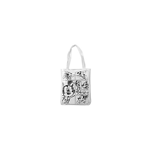 H&H 9820300 Sac dépenses, Chlorure de polyvinyle (PVC), blanc/noir