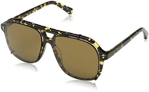 Stella McCartney Unisex-Erwachsene SC0076S 002 Sonnenbrille, Braun (002-Avana/Brown), 56