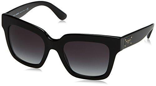 Dolce & Gabbana Damen 0DG4286 501/8G 51 Sonnenbrille, Schwarz (Black/Gradient),