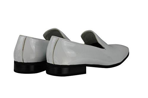 Xposed - Pantofole uomo White Patent
