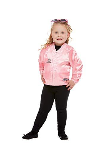 Für Kostüm Kleinkind Lady Pink - Smiffys 27490T2 Damen Jacke, offizielles Lizenzprodukt, Rosa, für Mädchen, Kleinkinder, Alter 3-4 Jahre