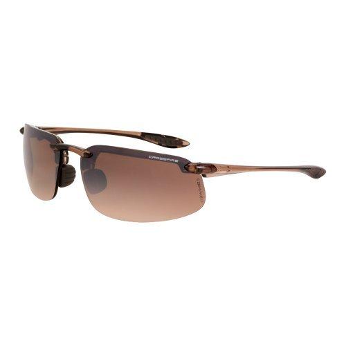 a7251db984 Crossfire Eyewear 211125 ES4 Safety Glasses High Definition Brown Flash Mirror  Lens by Crossfire Eyewear