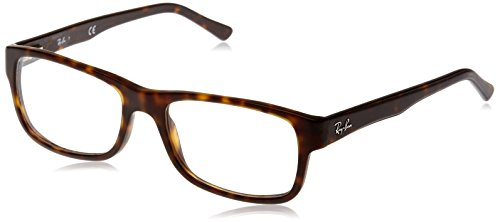 Ray-Ban Unisex-Erwachsene Brillengestell 0rx 5268 5211 55, Braun (Matte Havana)