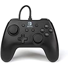 PowerA Wired Officially Licensed Controller for Nintendo Switch - Black Matte