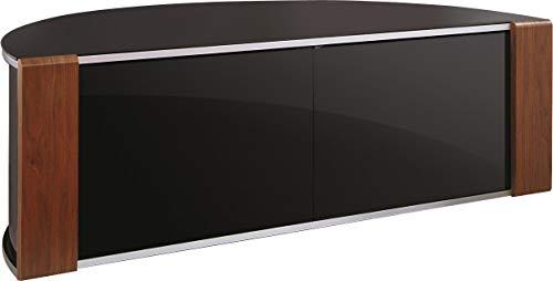 MDA Designs Sirius 1200 Meuble TV d'angle en Noyer et Noir chêne
