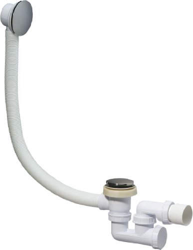 Wirquin SP780399 Quick-Clac Vidage de baignoire avec trop-plein Chrom
