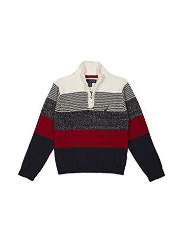 Nautica Jungen   Pullover  -  weiß -  (Nautica Pullover Für Jungen)