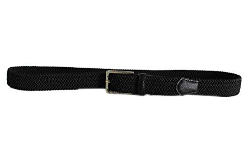 Cintura uomo Renato Balestra l.treccia elastica 969.35 nero