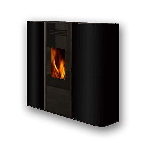 FUJISOL Estufa de pellets de Pasillo Modelo S Color Negro 10,5kW