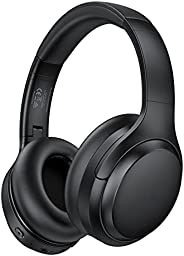 Hybrid Active Noise Cancelling Headphones with 35H Playtime, Type-C Fast Charging, Bluetooth 5.0, Hi-Fi Stereo