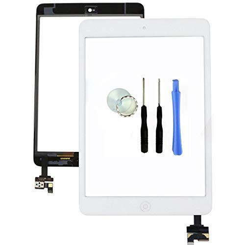 ür iPad Mini - Digitizer Glas-Frontscheibe mit IC-Chip, Home-Button, Kamera-Halterung und Kleber ()