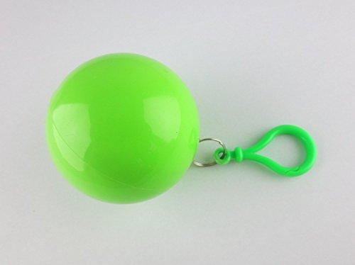 Notfall-Poncho Universum, idial für Festivals, klein und schnell verpackt, Regencape, Regenpocho, viele Farben Green