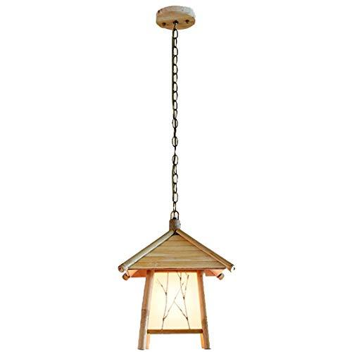 LMDH Jahrgang bambus kronleuchter haus restaurant b & b inn teehaus club japanischen zen hall flur licht -