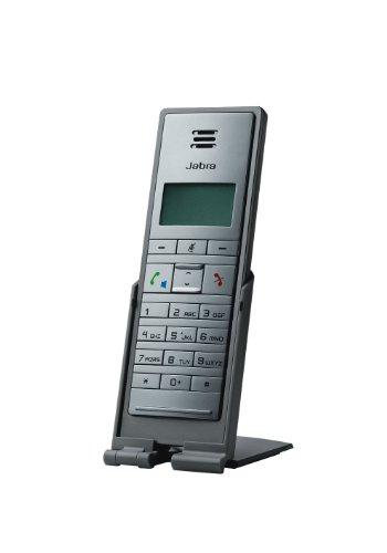 Jabra Dial 550 kabelgebundenes Handset mit USB-Schnittstelle für VoIP-Softphones/UC-Plattformen wie Microsoft Skype for Business, Cisco, Avaya uvm. mit Standfuß, anthrazit Cisco Handset