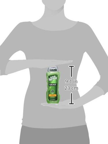 Irish Spring Gear Body Wash, Hydrating, 18 Ounce by Irish Spring