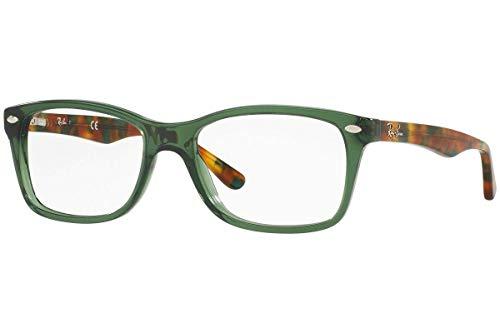 RAYBAN Damen Brillengestell RX5228, Grün (Opal Green), 53