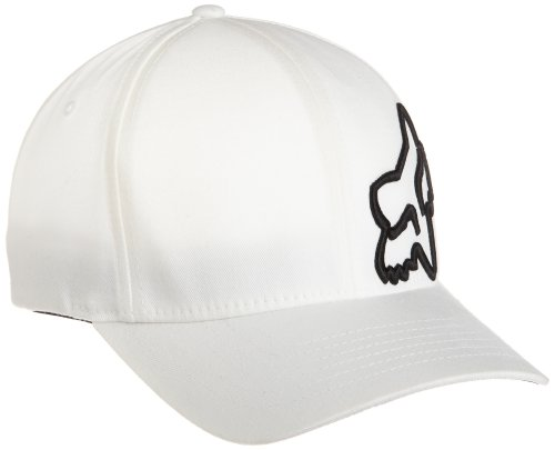 Fox - - Herren 45 Flexfit Flexfit Hat, X-Small/Small, White
