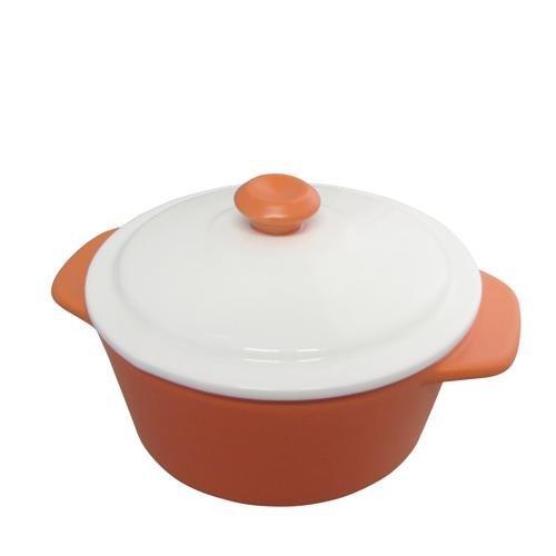 mini-pastell-runde-backform-auflaufform-mit-deckel-matt-finish-kuche-pot-orange