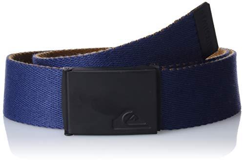 Quiksilver Jungen The Jam Gürtel, Blau (Medieval Blue BTE0), One Size (Herstellergröße: Única)