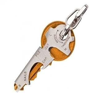 Souked EDC 8 en 1 ouvre-bouteille trousseau Gadget multifonction porte-clefs