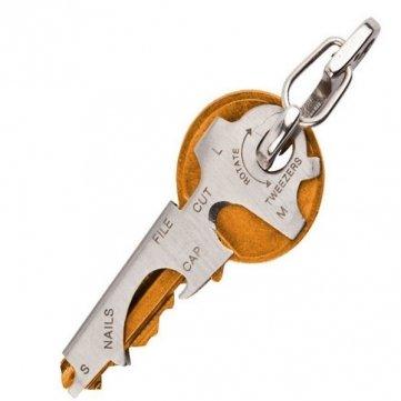 Bheema EDC 8 in 1 Flaschenöffner Schlüsselanhänger Gadget Multifunktionstasten Clip