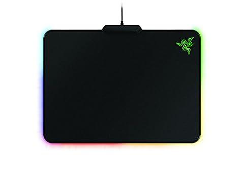 Razer Firefly -Tapis de Souris; Hard Gaming Mouse Mat avec Rétro-Eclairage RGB, Tapis Gaming Professionnel