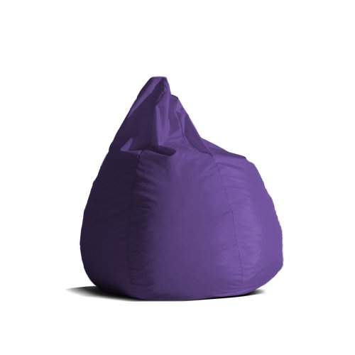 Pouf-poltrona-sacco-media-BAG-L-Jive-tessuto-tecnico-antistrappo-viola-imbottito-Avalon