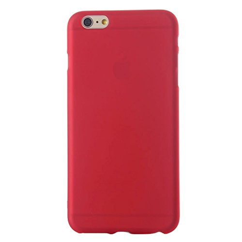 Phone case & Hülle Für IPhone 6 / 6S, Eiffelturm Muster Kunststoff Fall ( Color : Red ) Red