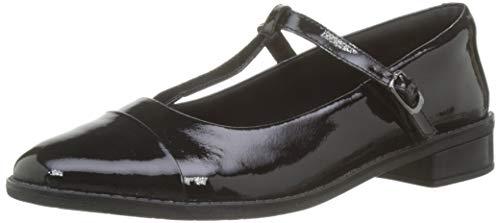 Clarks Drew Shine, Damen Lauflernschuhe, Schwarz (Black Patent Leather), 41.5 EU (7.5 UK)