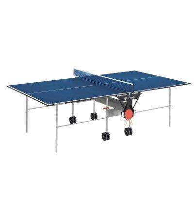 Blauer Outdoor-tischtennistisch (Garlando Tischtennis-Tisch Training Indoor Blau)