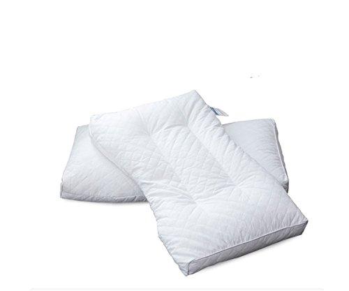 GXSCE Cervical Special Massage Kissen, hypoallergen und Anti-Staub-Weiß, Anti-Schnarch-Kopf Soft Support Comfort Waschbare Kissen