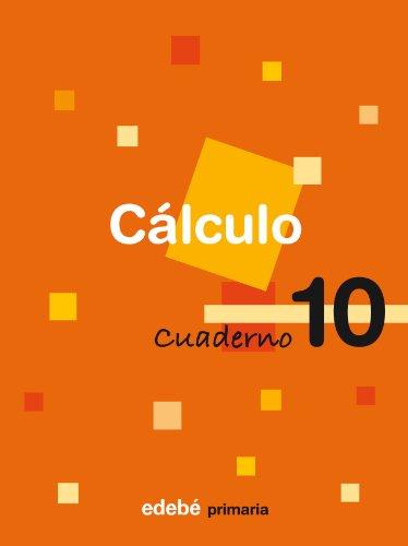 Cuaderno 10 Cálculo - 9788423688951