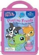 Littlest Pet Shop Playtime Friends Book & Magnetic Play Set [With 3 Double-Sided Play Scenes and 3 Magnetic Sheets with Over 100 Magnets] by (2008-03-01) -