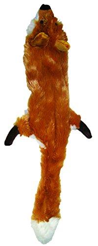 Skinneeez 470472 Hundespielzeug Fuchs, 61 cm, braun