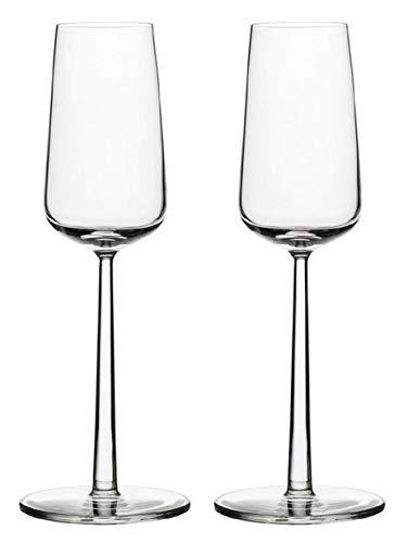 Iittala 004314SET Essence Champagneglas 21 cl, 2-er Set