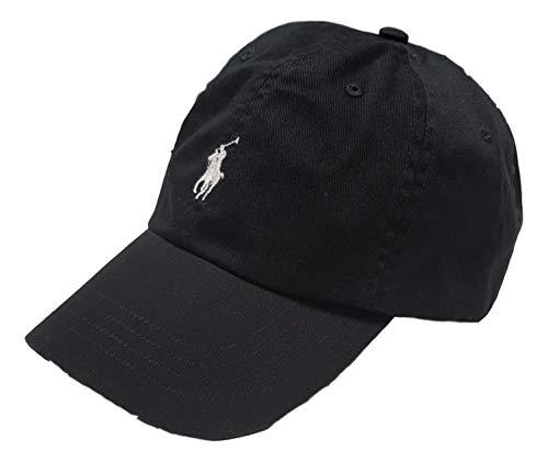 Ralph Lauren Herren Baseball Cap Schwarz Schwarz Einheitsgröße