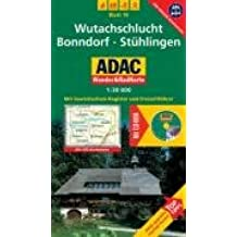 Wutachschlucht, Bonndorf, Stühlingen: 1:30000. Schwarzwald. GPS-genau