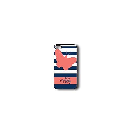 Krezy Case Monogram iPhone 6 Case, Colorful stripes Pattern Monogram iPhone 6 Case, Monogram iPhone 6 Case, iPhone 6 Case Cover
