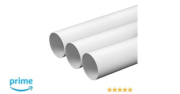 Lüftungsrohr Ø mm länge m meter aus kunststoff rundrohr