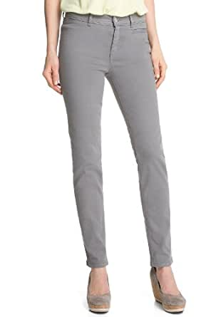 ESPRIT Collection Damen Hose R23271, Gr. 32/30 (XXS), Grau (019 camp grey)